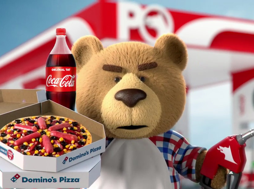 Dominos Pizza Coca Cola Ve Petrol Ofisinin Twitter Aracılığı Ile